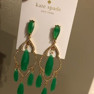 Kate Spade chandelier earrings NWT